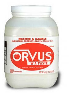 Orvus Paste Shampoo - 120 oz