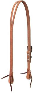 "ProTack 3/4"" Split Ear Headstall with Buffed Brown Hardware"