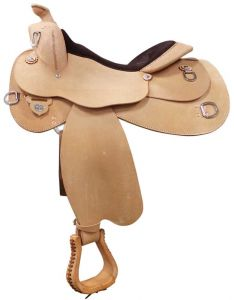 Circle Y Roughout Trainer Saddle Close Out