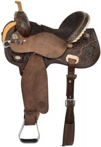 Kenda Lenseigne Black Powder Mounted Shooter Saddle