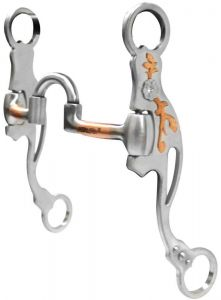 JG Low Correctional Bit With Copper Trim & Crystal Stone