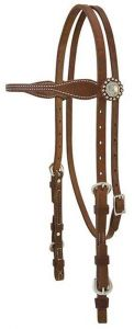 Stacy Westfall ProTack Oiled Browband Headstall