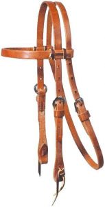Pony and Cob Laced Browband Headstall