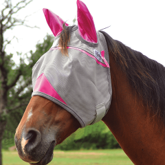 Cashel Breast Cancer Research Crusader Fly Mask With Ears