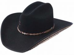 Charlie 1 Horse Back At The Ranch Rising Star Felt Hat