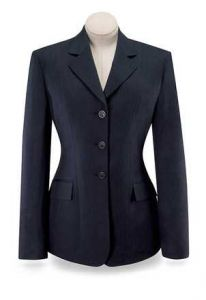 Navy Herringbone Devon Hunt Coat