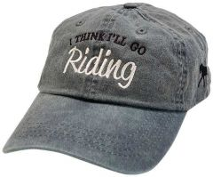 I Think I'll Go Riding Today Baseball Hat