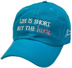 Life Is Short Buy The Horse Baseball Hat