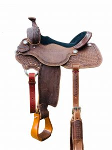 LR Mesquite All Around Performance Saddle