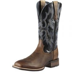 Men's Ariat Tombstone Boots Earth and Black