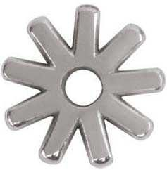 9 Point Replacement Rowel, Stainless Steel, 7/8""