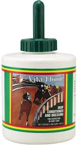Vita Hoof Conditioner With Brush For Horses 32oz