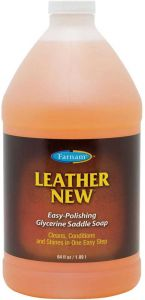 Leather New Easy-Polishing Glycerine Saddle Soap 1/2 Gallon