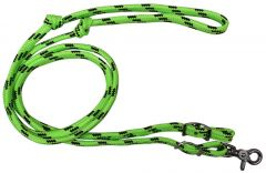 Soft Braid Game Reins - Lime/Black