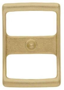 """Conway Buckle Solid Brass, 5/8"""""""