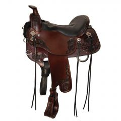 Horizon Rambler Saddle 15.5 W Brown Only Close Out