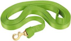 Flat Nylon Lunge Line, Lime Green