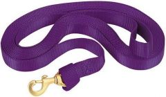 Flat Nylon Lunge Line, Purple