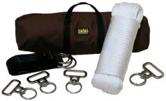 Four Horse Highline Kit with In-Line Swivels