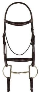 Ovation Breed Fancy Stitched Raised Padded Bridle - Draft Cross