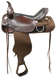 Maize Cordura Trail Saddle