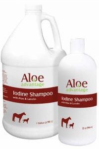 Aloe Advantage Iodine Shampoo 32 Oz.