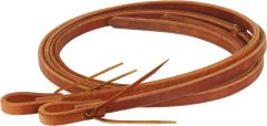 "Oiled Harness Leather Reins - 5/8"" Wide, 8 Plus Long"