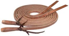 "Hermann Oak Harness Split Reins -  3/4"" x 8'"