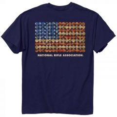 NRA - Shot Gun Flag Shirt