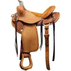 Bar J  Denny Chapman II Mounted Shooting Saddle