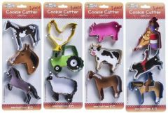 3 Piece Cookie Cutter Collection