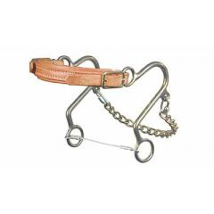 "Little ""s"" Hackamore - Leather nose"