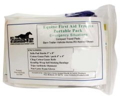Equine First Aid Trauma Portable Pack