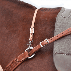 Classic Equine Harness Leather Wither Strap
