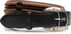 Men's Black/Copper Fenced In Belt