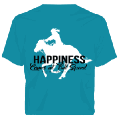 T-Shirt Happiness Comes at Full Speed