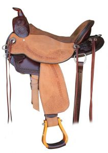 Denny Chapman Eliminator Mounted Shooting Saddle