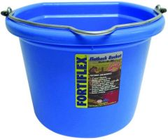 Flat Back Bucket 8qt