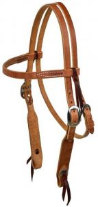 """3/4"""" Browband Headstall With Stainless Steel Buckle"""