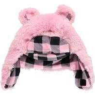 Lazy One Pink Bear Hat
