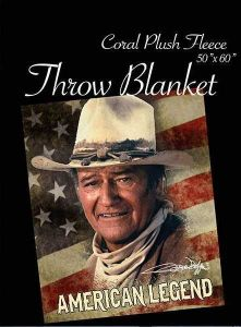 John Wayne Throw American Legend