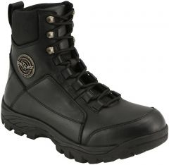 Milwaukee Leather Men's Lace Up Tactical Leather Boots