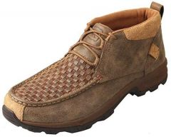 Men's Hiker Shoe – Woven Brown/Bomber