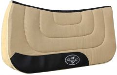 Professional's Choice Contoured Work Saddle Pad - Tan