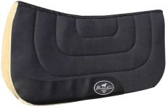 Professional's Choice Contoured Work Saddle Pad - Black