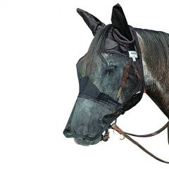 Cashel Quiet Ride Flymask Long Nose With Ears