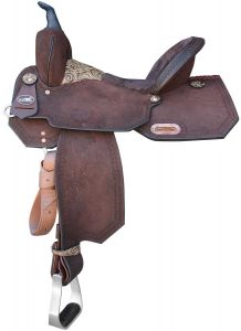 The Carlota Barrel Saddle