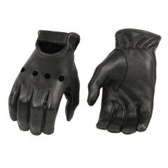 Men's Deerskin Leather Unlined Driving Gloves