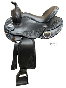 Bar J Stormwood Saddle