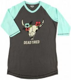 Dead Tired Women's PJ Tall Tee